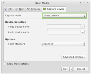 VLC open media 2
