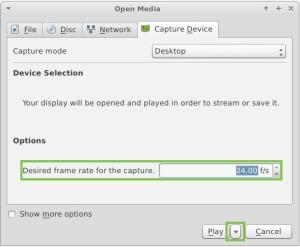 VLC open media 3